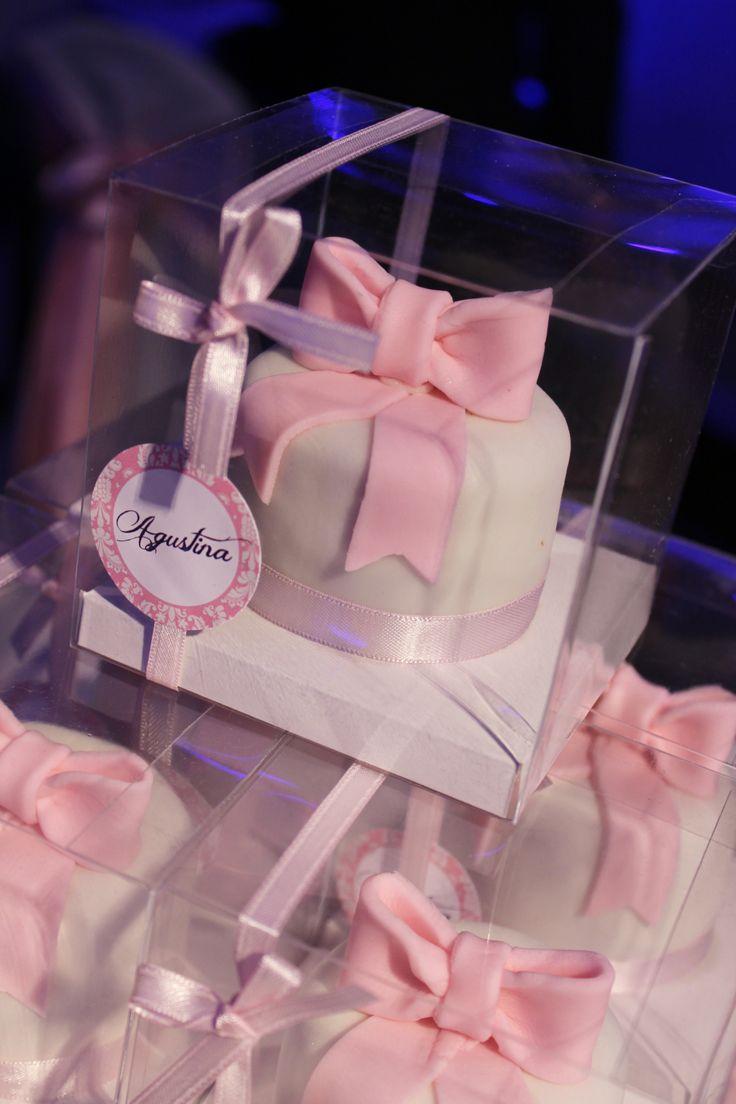 Sweet 16 Minicake Favor by Violeta Glace