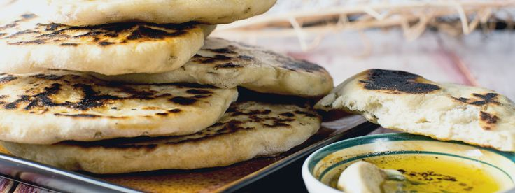 How to Make Naan Bread - Luvo