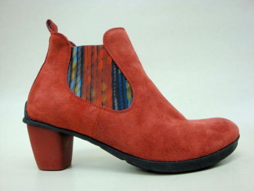 THINK-Damen-Schuhe-Sommer-Stiefeletten-Shoes-for-women-KEKSY-rosso-Gr-37-NEU
