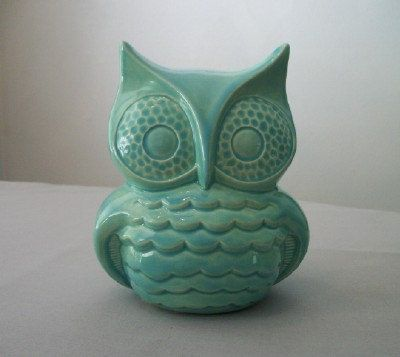 @KatieSheaDesign Likes-->  That's about the size of it! Owl Decor for Home or Garden. $22.00, via Etsy.
