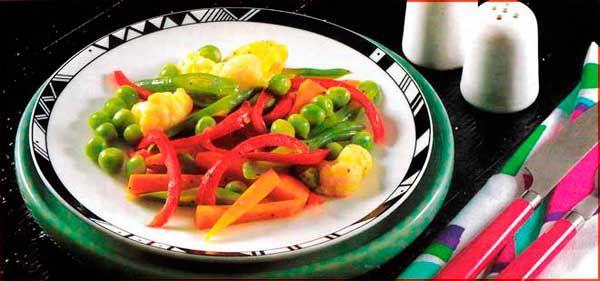 Verduras mixtas calientes