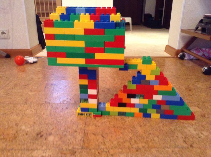Дом гнома из Лего