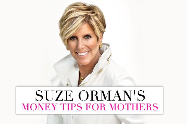 Money Matters: Suze Orman's Financial Advice For Mothers