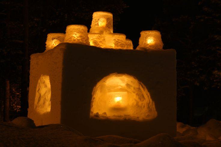 Icelantern festival Vuollerim