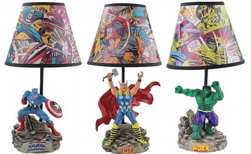 Mighty Thor Statue Lamp - Westland Giftware - Thor - Lamps at