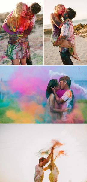 Fearless Love! 37 Adventurous Engagement Photos That Will Take Your Breath Away! Color Fun!