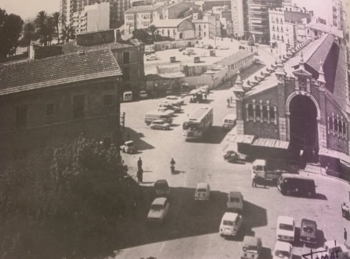 San Francisco convent's plot after being demolished in the 70's