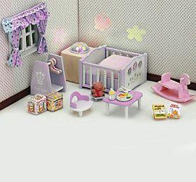 """Детский игровой набор Sylvanian Families """"Детская комната"""" розовая арт. 2957K"""