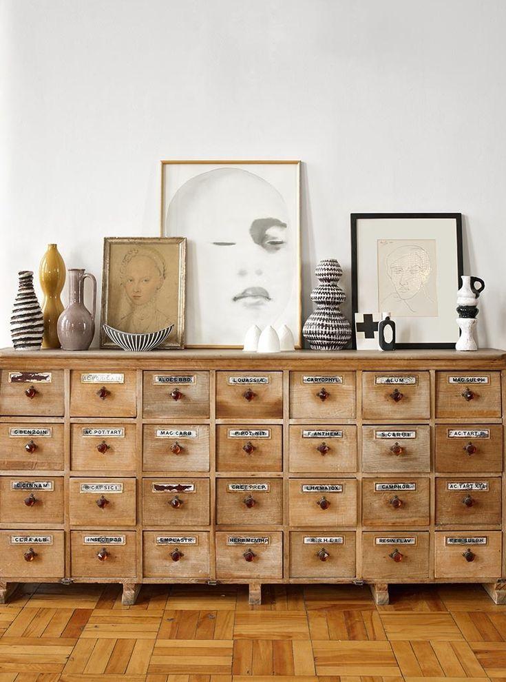 17 beste idee n over vintage meubels op pinterest rustiek schilderij antieke beschilderde - Vintage woonkamer meubels ...