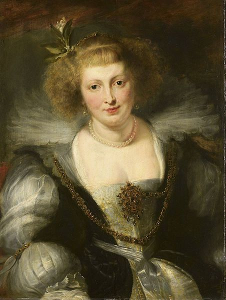 Peter Paul Rubens's portrait of his wife Helena Fourment: