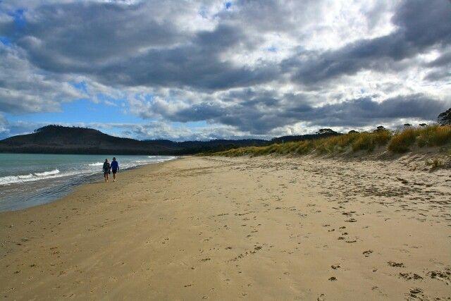 Seven mile beach, Tasmania
