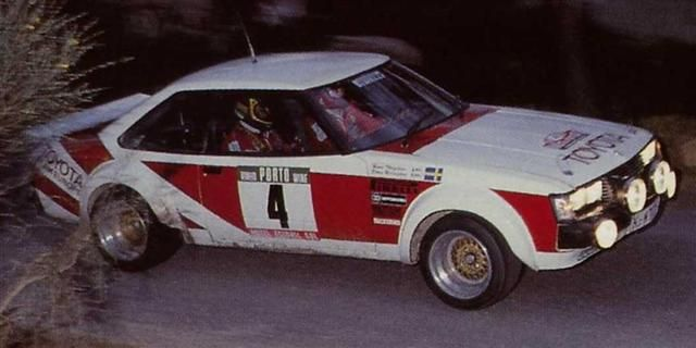 70's Rally RA40 Celica