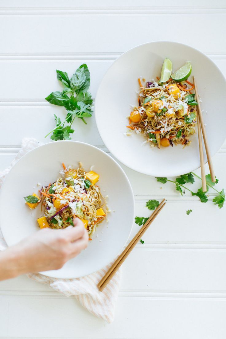 I've made some version of this soba noodle and mango salad for the past few summers and, without fail, people go nuts over it. Full of thai flavors like lime, ...read more