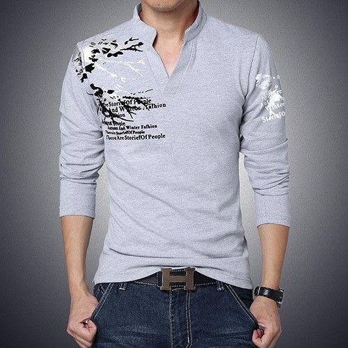 Mens Slim Fit Shirt- Mens Graphic Tee,Mens Shirt, Leopard Print, Mens V Neck Shirt , Mens Clothing, Mens Fashion, Fashion Trends