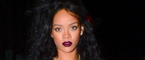 Rihanna Hits The Club In A Black Bra And Boxer Shorts, Because Why Not
