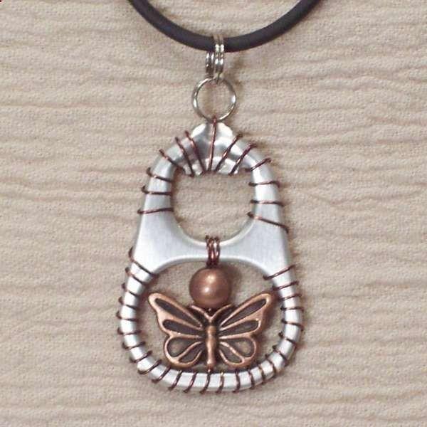 pop tab necklace..
