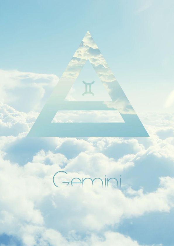 Air sign Gemini ♊