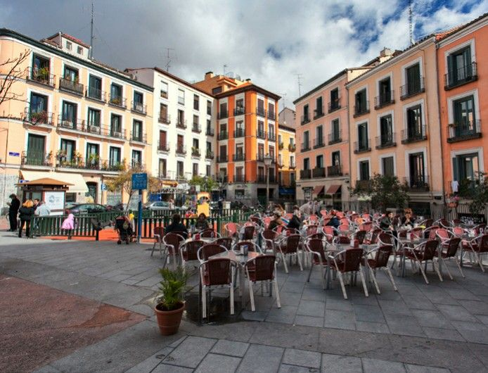 Plaza de Malasaña, Madrid España