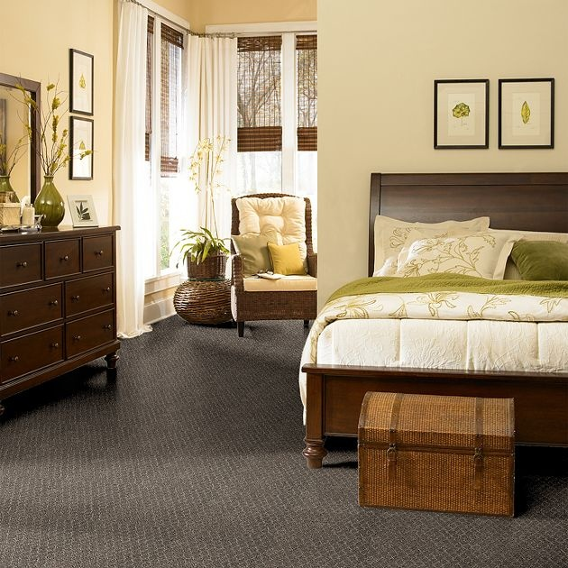Carpet Reminiscing - Z6257 - Graphite - Flooring by Shaw