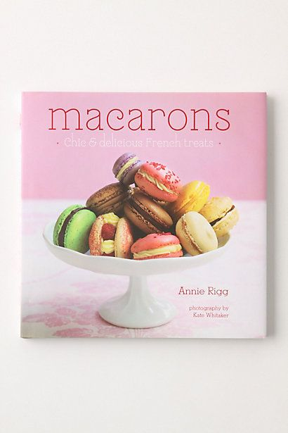 Got this cookbook and another macaron cookbook for Christmas!  Making very, very soon:).