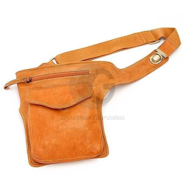 Hip bag...fast closure. This is what I want for summer service.