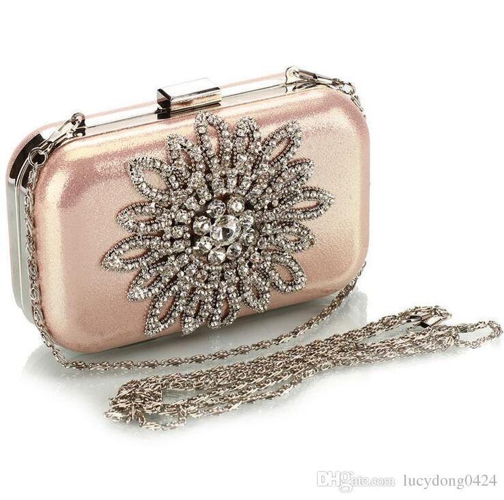 Diamonds Elegant Evening Bags Clutches Clear Beads Handbag Party Bridal Handbags Hand Bags For Women Fashion Crystal Hand Bags Blue Handbags Brown Handbags From Lucydong0424, $28.05| Dhgate.Com