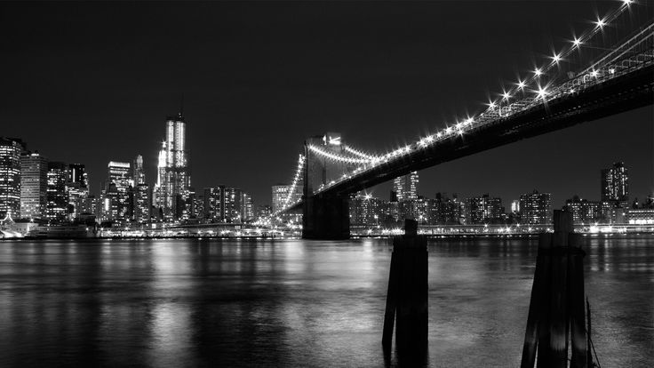 city night black and white - Szukaj w Google