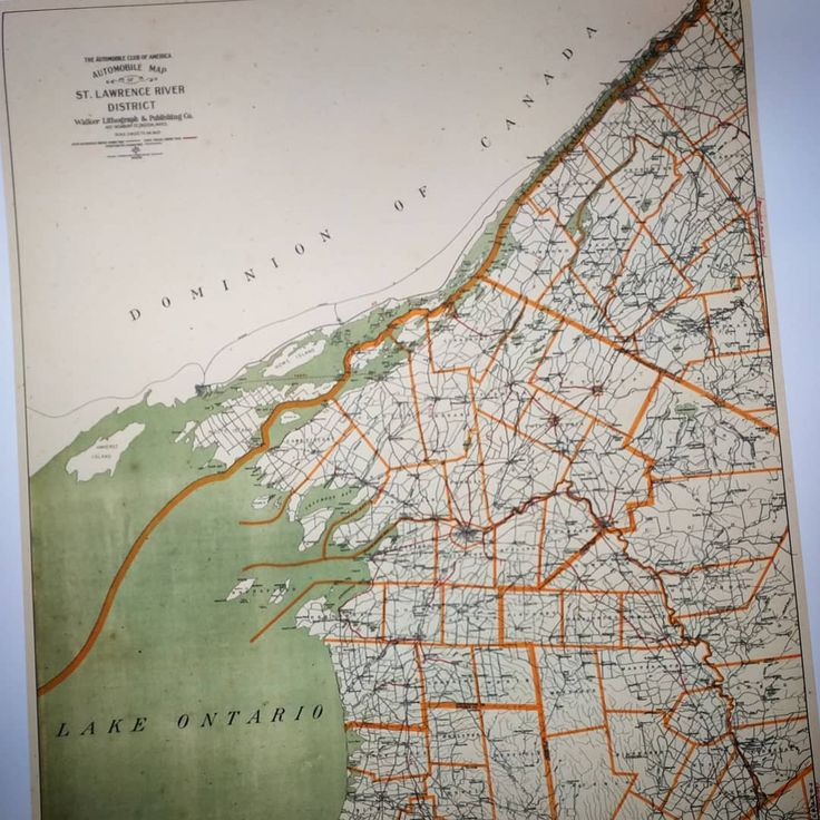 This cool map from the early 1900u0027s