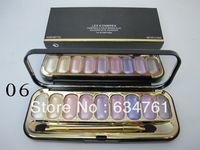 las mejores marcas de maquillaje profesional 1pcs / lot nuevo maquillaje 9 Color de ojos sombra placa 21g envío libre