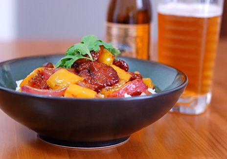 sweet and sour pork, via appetite for china / @Diana | Brooklyn Galley.