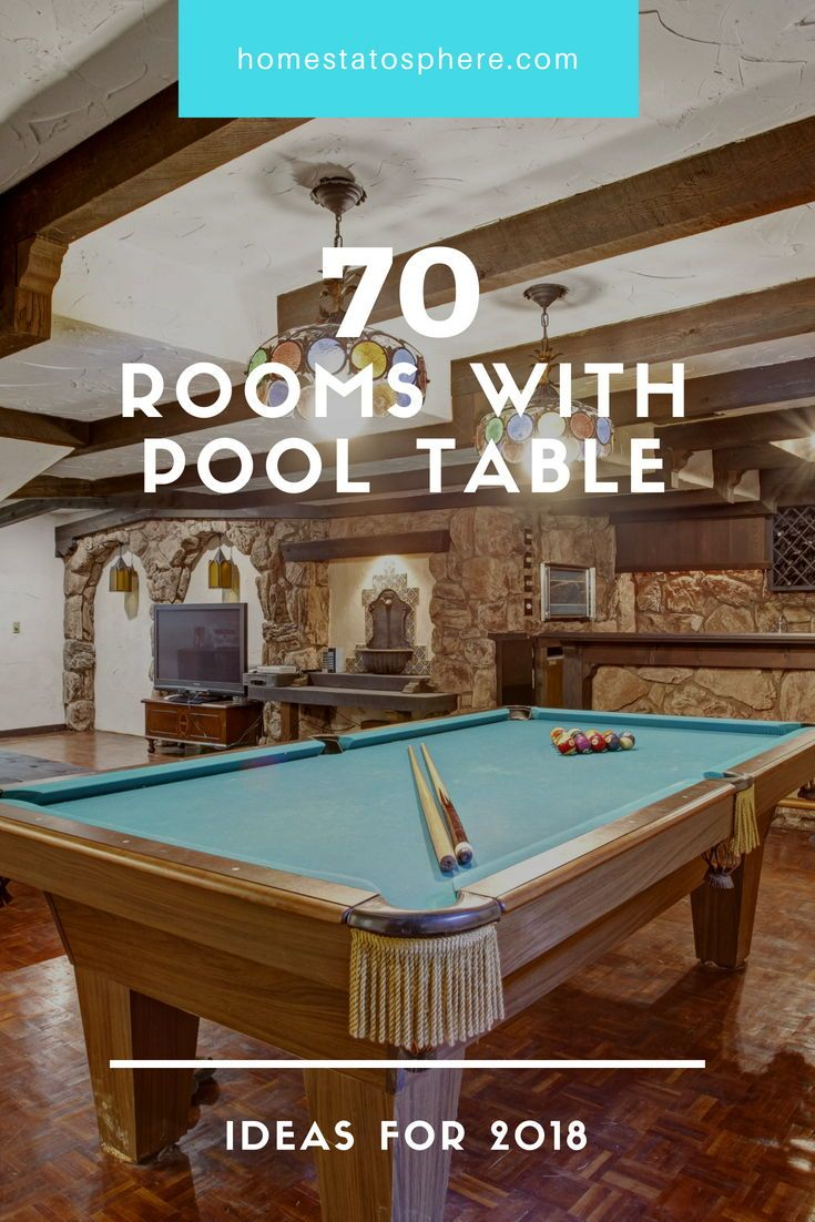 65 Rooms With A Pool Table Man Caves Included Pool Table Man