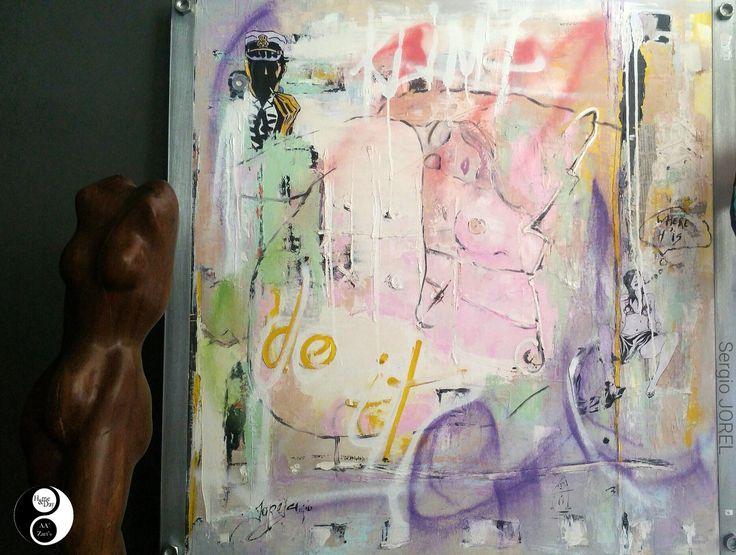 Sergio JOREL en Expo AA'Zart's #art #peinture #gallery
