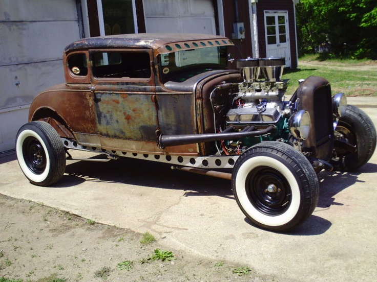 1930 Ford Model A Rat Rod Coupe