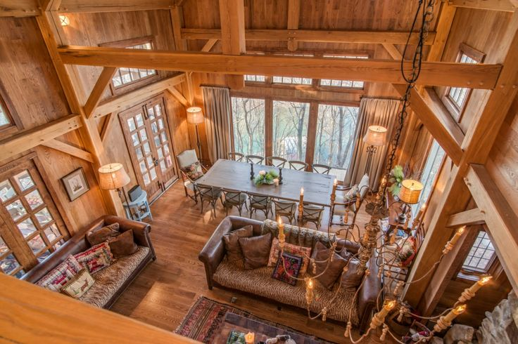 48 Best Images About Timber Frame Homes Interiors On