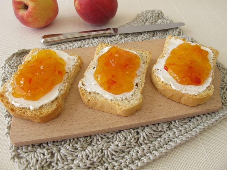 Easy canned peach jam recipe