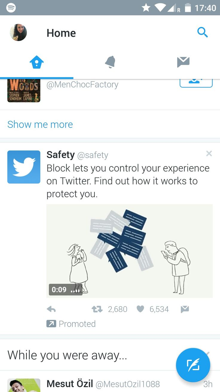 Twitter -  this is not directly relevant to me but useful to know regarding keeping safe