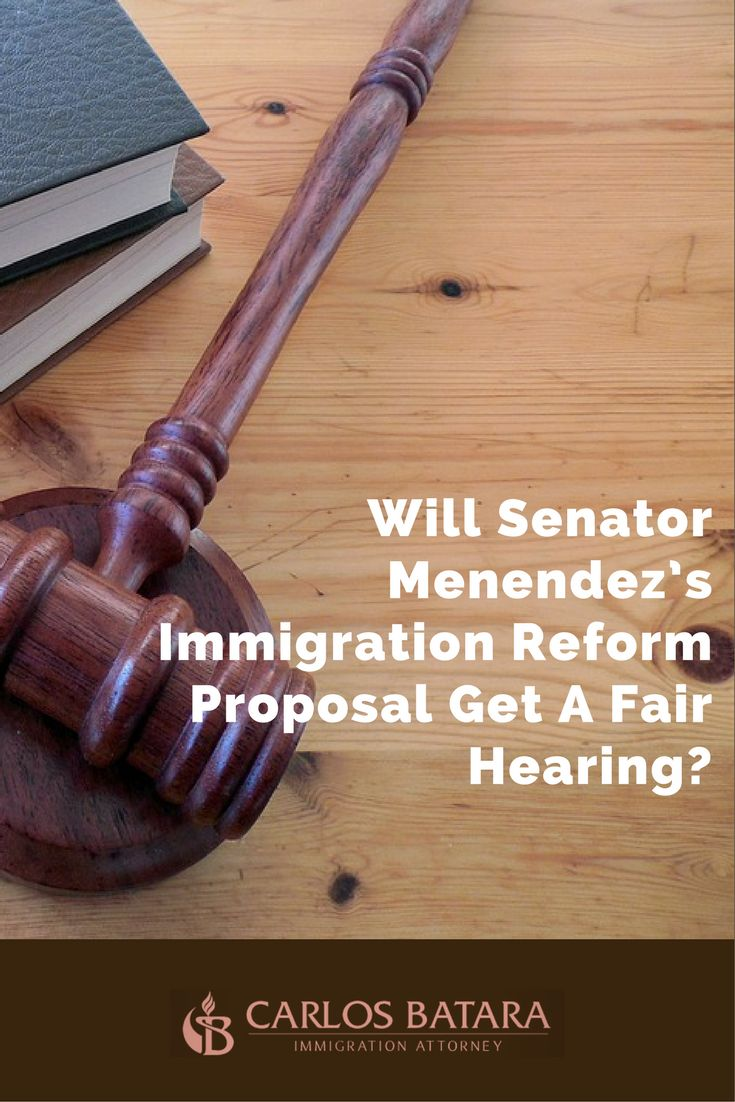 Will Senator Menendez's Immigration Reform Proposal Get A Fair Hearing?  Just ten days ago, it looked like the immigration reform debate was over for this year.  Now it seems the debate might resume as soon as the November elections...