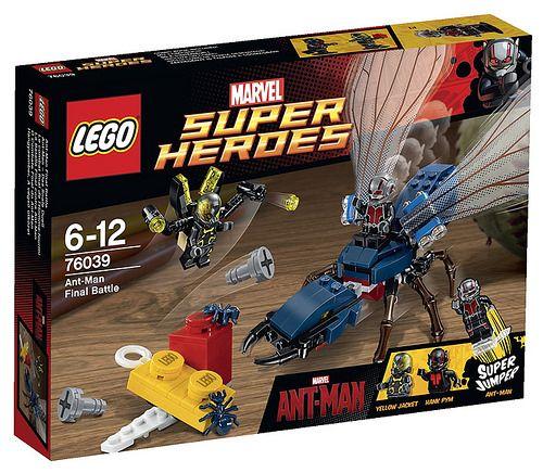 LEGO Marvel Super Heroes 76039 - Ant-Man Final Battle #lego #legosuperheroes #legoMarvel
