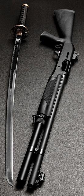 Samurai or Shotgun?????