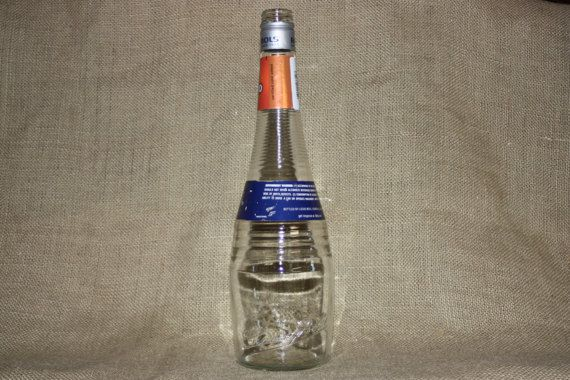 Liquor Bottle For DIY Projects 1 liter Bols by UpcycledDIYCrafting