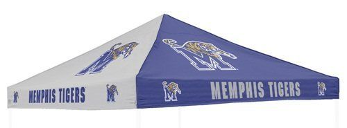 Logo Chairs Memphis Tigers Canopy by Logo. $89.88. Dimensions: 9' x 9' Officially licensed Made in China. School-color panelsSixteen NCAA® team logos. 500 denier polyester. Canopy. Beat the elements and show some school pride with the Logo Chairs® canopy. Friendly fans will know they can find shelter under the durable polyester adorned with sixteen NCAA® team logos. You can't find a better way to top off a tailgate!. Save 40%!