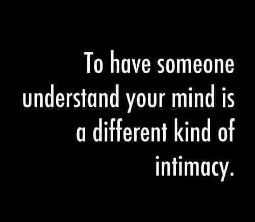 And understand others'.