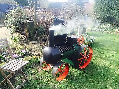 traction engine tractor log burner /BBQ /smoker