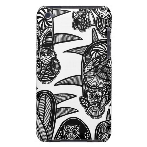 A unique Gardens #3 hand drawn art iPod case iPod Case-Mate Cases