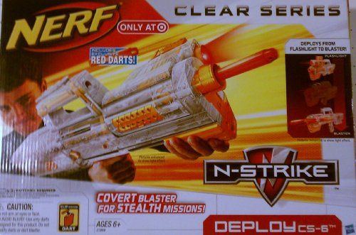 Nerf N-Strike Clear Series: Deploy CS-6