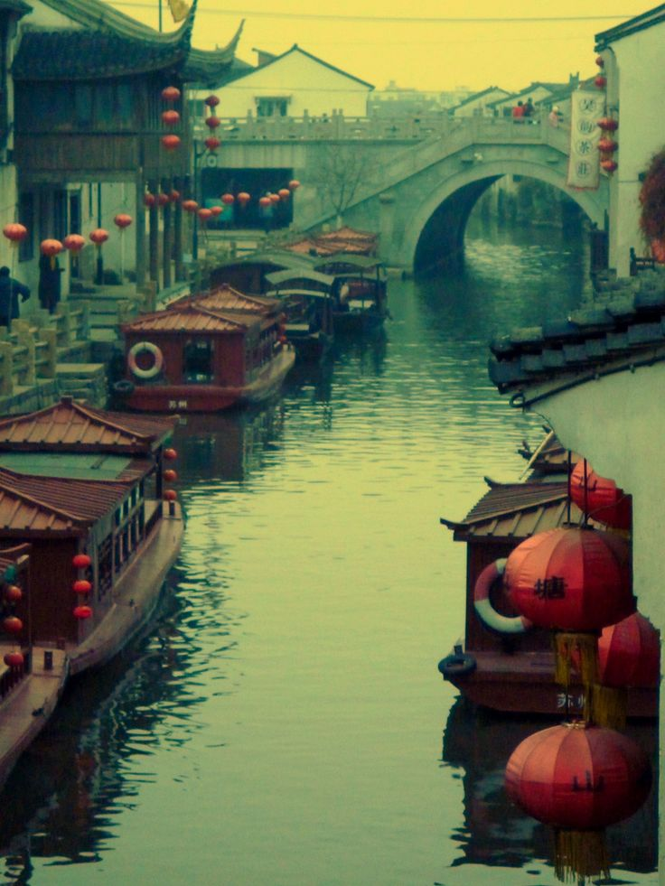 Canals of Old Shanghai