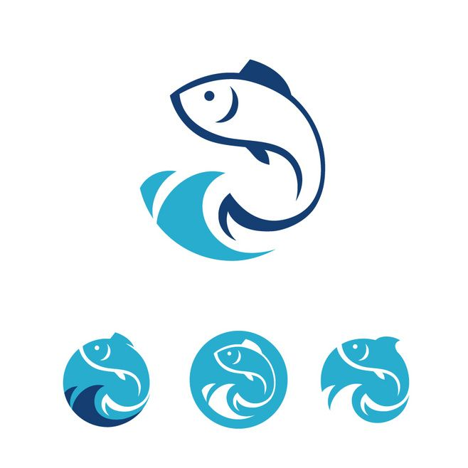1000 Ideas About Fish Logo On Pinterest Logos