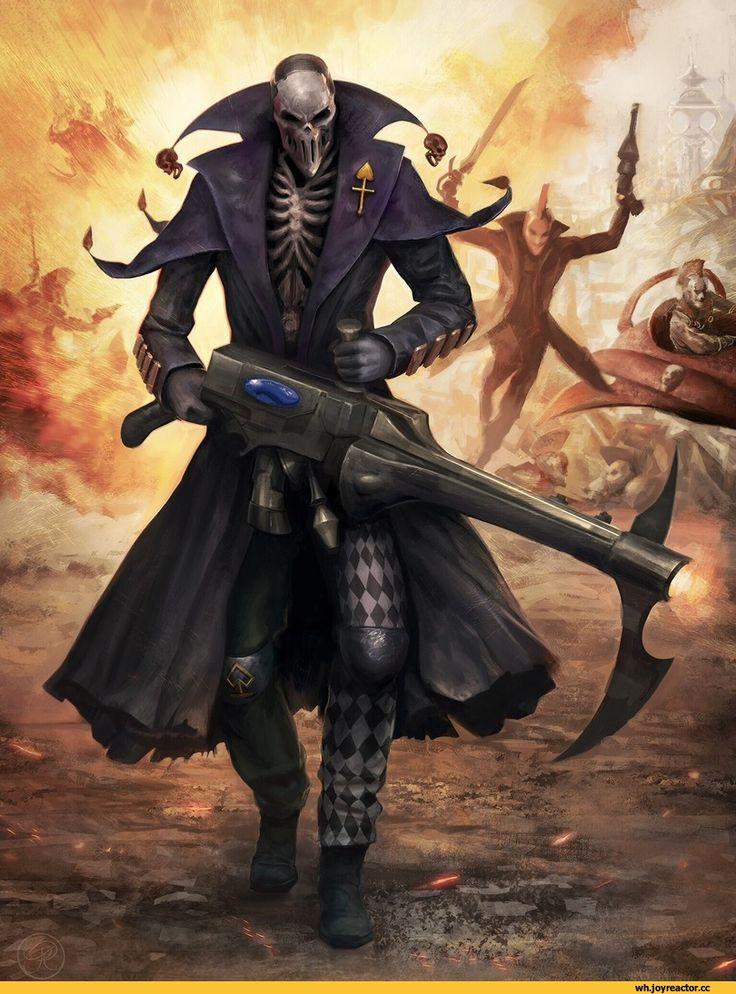 harlequin :: warhammer 40000 :: сообщество фанатов / красивые картинки и арты, гифки, прикольные комиксы, интересные статьи по теме.
