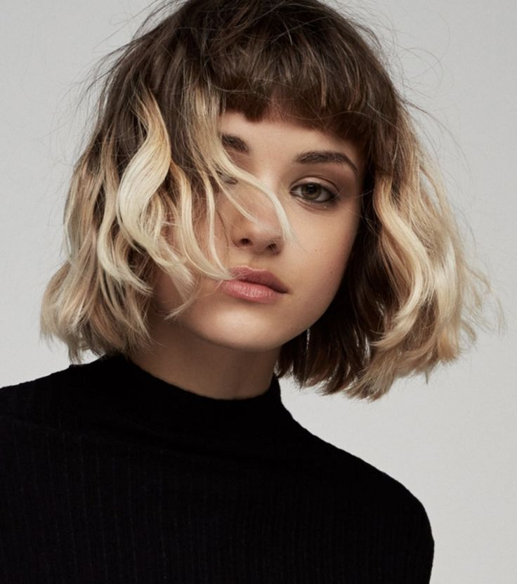 Trend hairstyles: medium length, tiered and with pony – 13 Stylings & Tips