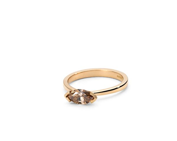 lovely Marquise cut diamond ring